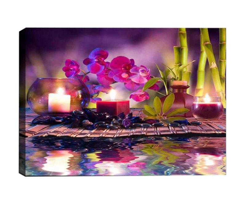 Slika 3D Purple Place 50x70 cm