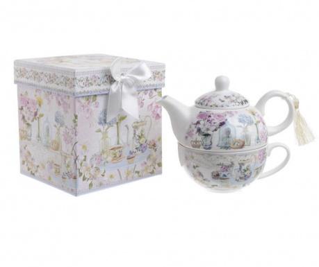 Set čajnik sa šalicom Caprice Flowers