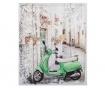 Tablou 3D Moped 50x60 cm