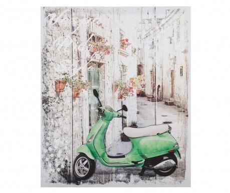 Πίνακας 3D Moped 50x60 cm