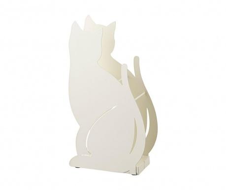 Поставка за чадъри Cat White