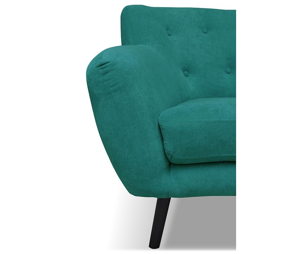 Canapea 3 locuri Hampstead Turquoise