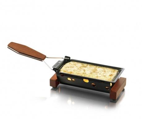 Zestaw płyta do serów i szpatułka Partyclette ToGo Taste