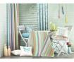 Stripes Light Blue Pink Sötétítő 140x270 cm