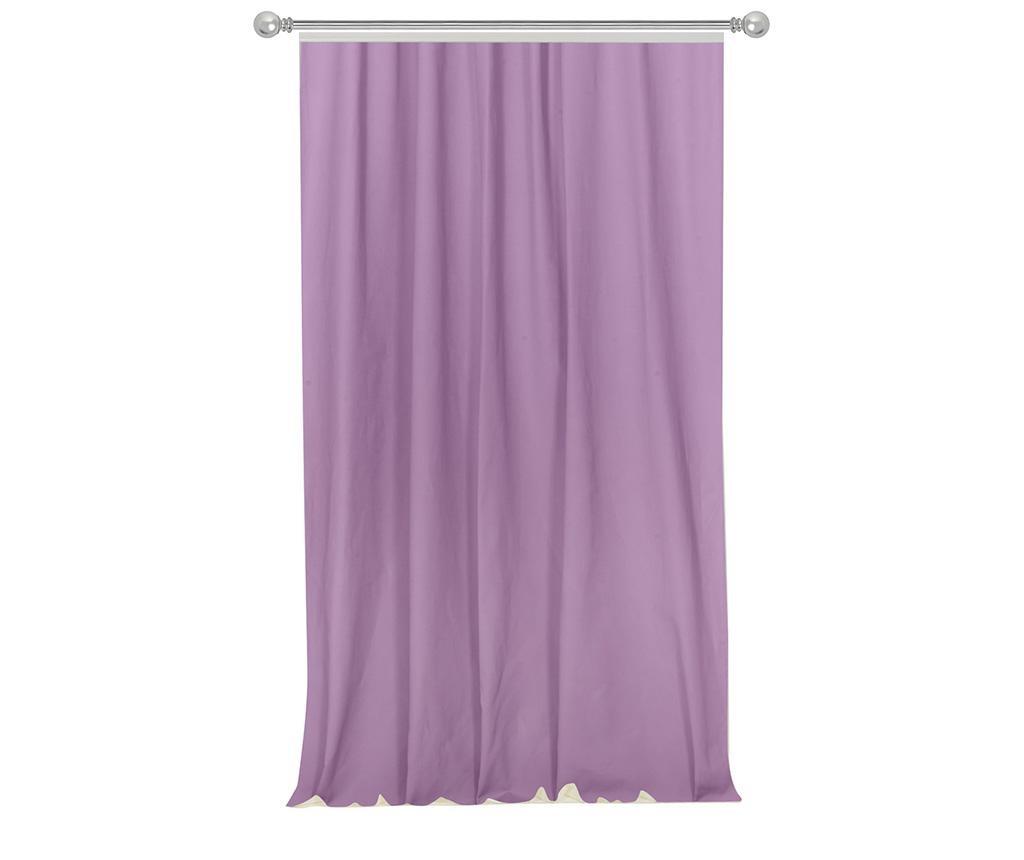 Záves Simple Purple 170x270 cm