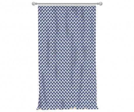 Завеса Chevron Blue 140x270 см