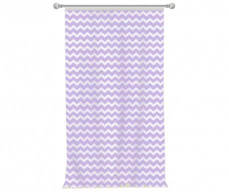 Zig Zag Purple Sötétítő 140x270 cm