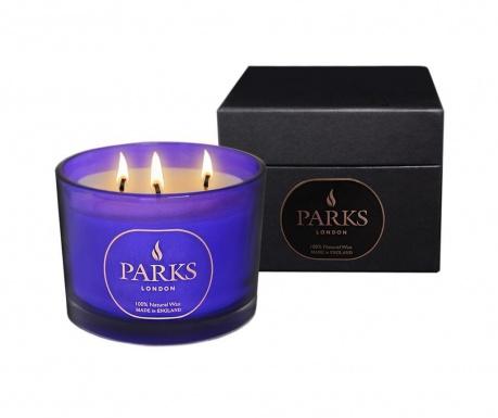 Vonná sviečka s 3 knôtmi Parks Moods Camomile & Orris
