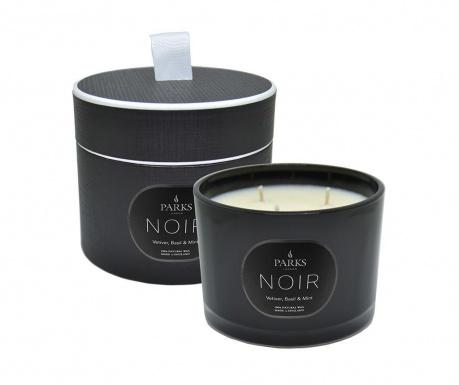 Vonná sviečka s 3 knôtmi Parks Noir Vetiver & Mint