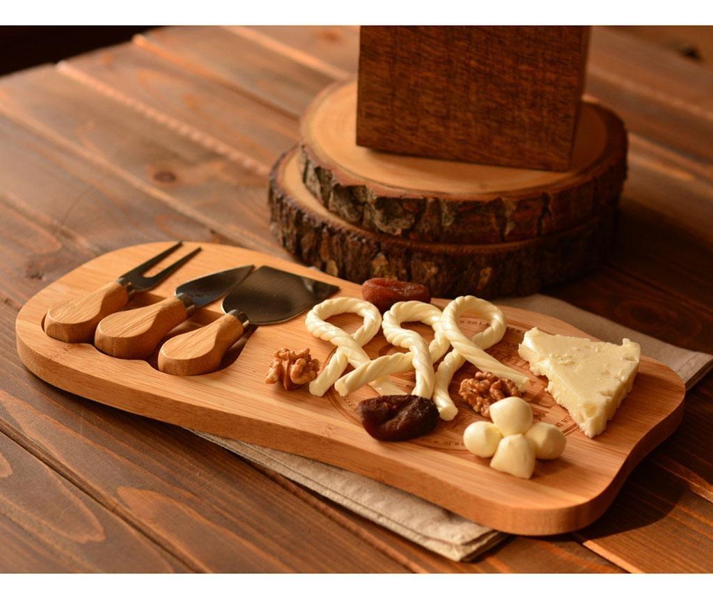 Hume Sajszervírozó tál és 3 db sajteszköz