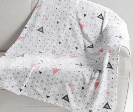 Pokrivač Cylia White 125x150 cm