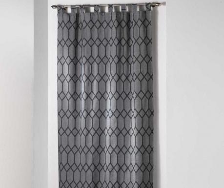 Zastor Monalise Loops Grey 140x260 cm