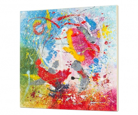 Slika Abstract Colors 100x100 cm