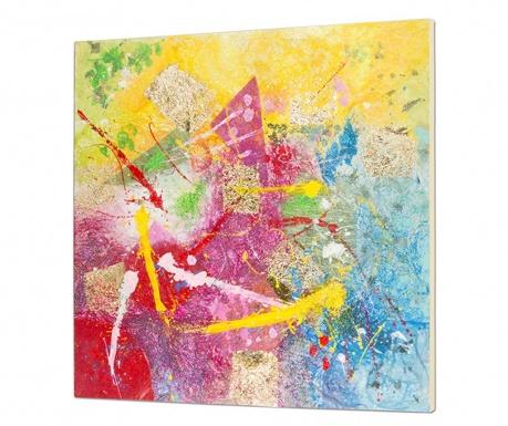 Slika Abstract Pink 100x100 cm
