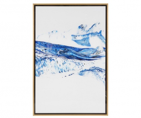 Slika Blue Waves 62x92 cm
