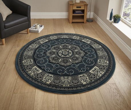 Dywan Heritage Dark Blue Circle 150 cm