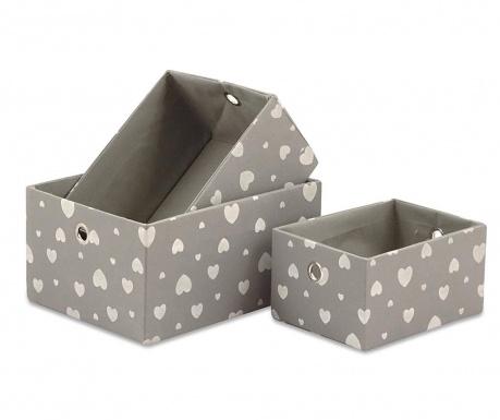 Set 3 kutije Cuore Bianco