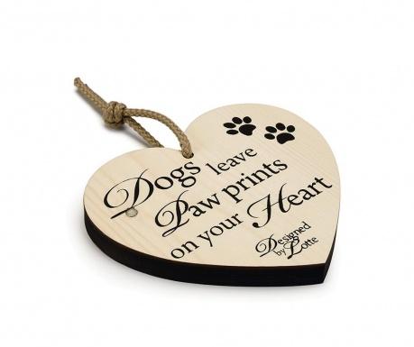 Závesná dekorácia Dog Heart