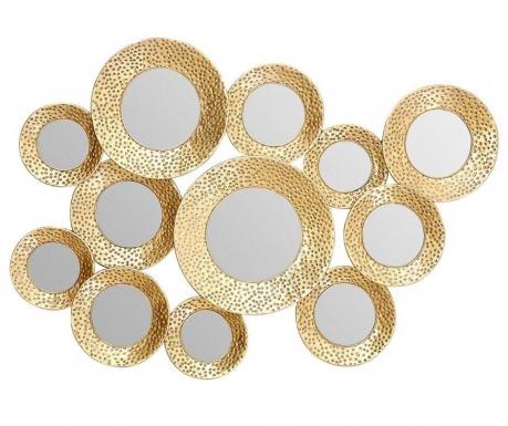 Dekorácia so zrkadlom Marcia Point Gold