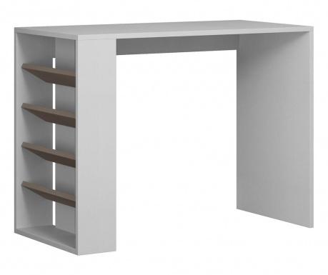 Pracovný stôl Section  White Light Mocha