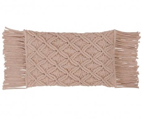 Ukrasni jastuk Macrame Pink 30x50 cm
