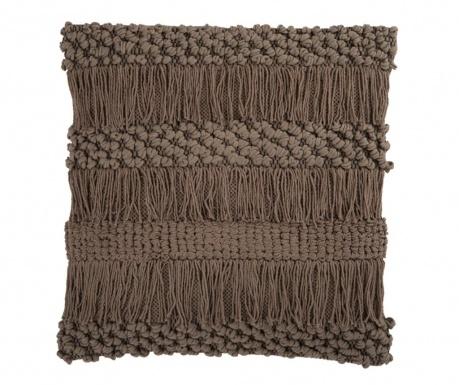 Ukrasni jastuk Macrame Polly Taupe 50x50 cm