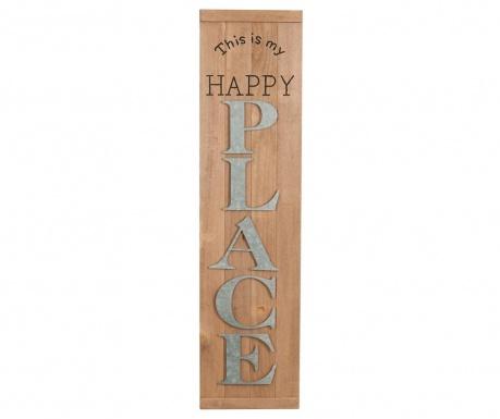 Nástenná dekorácia Happy Place