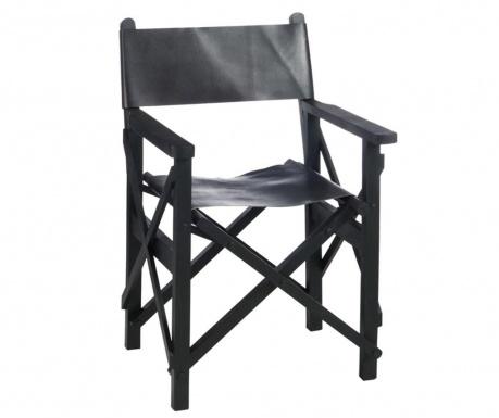 Skladacia stolička Movie Director Black