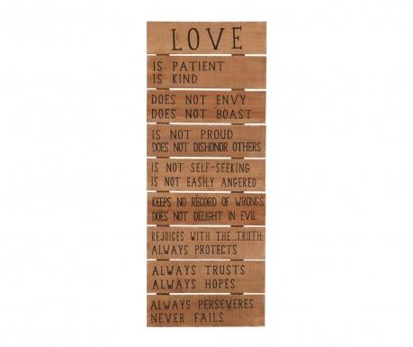 Nástenná dekorácia Definition of Love