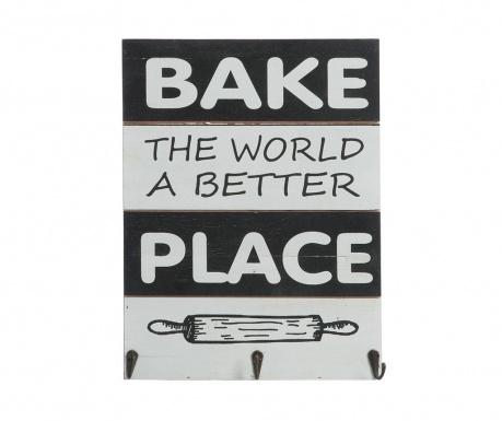 Nástenná dekorácia Bake the World a Better Place