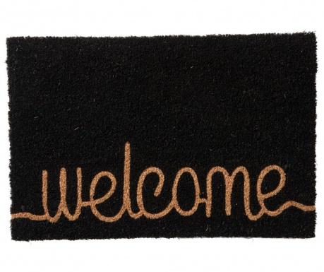 Vchodová rohožka Welcome Black 40x60 cm