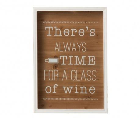 Nástenná dekorácia Time for Wine