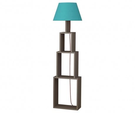 Podlahová lampa Tower  Light Mocha Blue