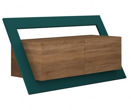 Komoda TV Kayt  Oak Turquoise