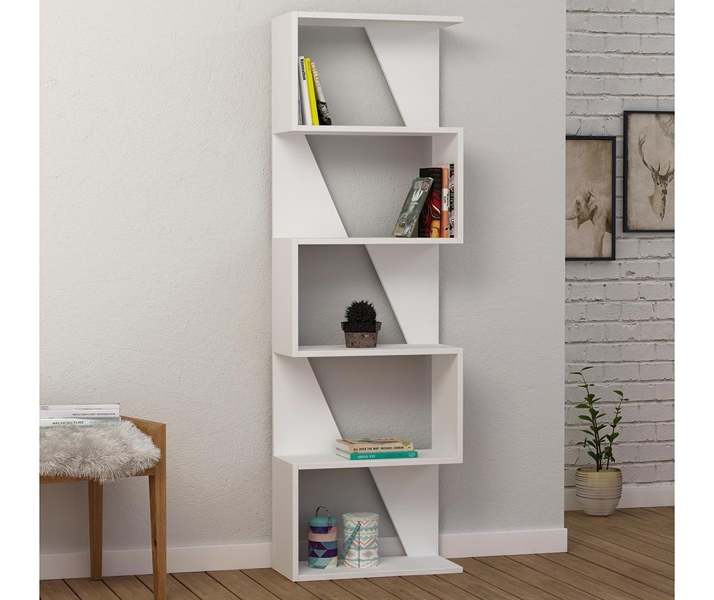 Knjižni regal Frame  White