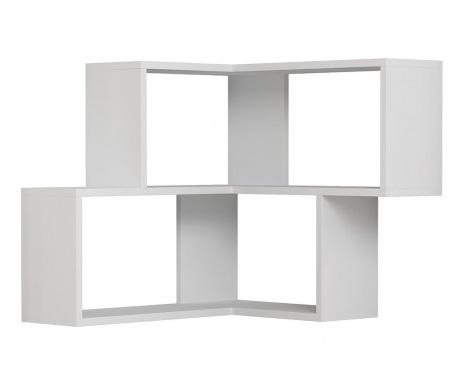Nástenný regál Corner  White