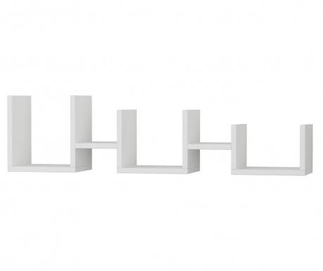 Nástenný regál Uzu  White