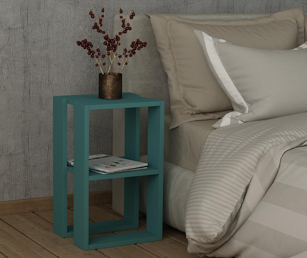 Nočna omarica Lonie  Turquoise