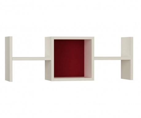 Półka ścienna Tie Fighter  White Claret Red
