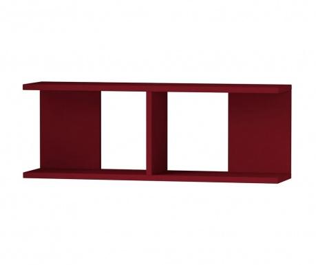 Półka ścienna Dim  Claret Red
