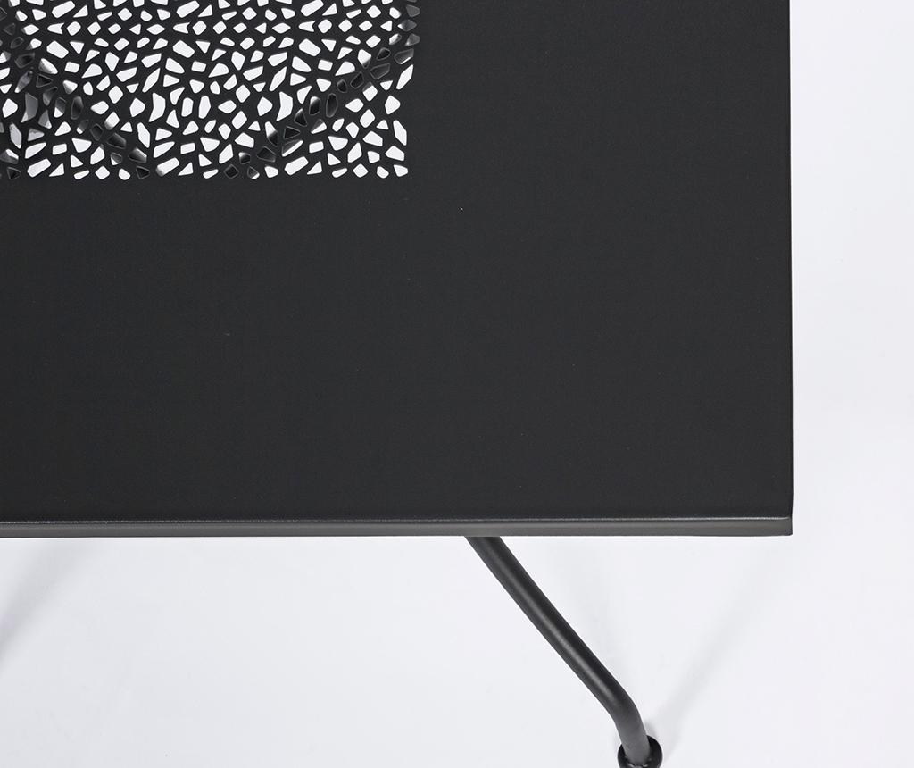 Kayden Dark Grey Kültéri asztal