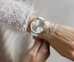 Ceas de mana dama Emily Westwood Shine Classic White