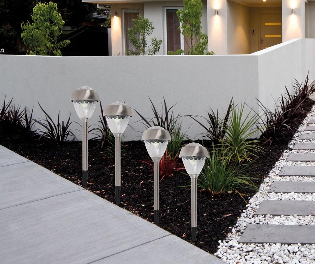 Set 4 solarnih svetilk Linden