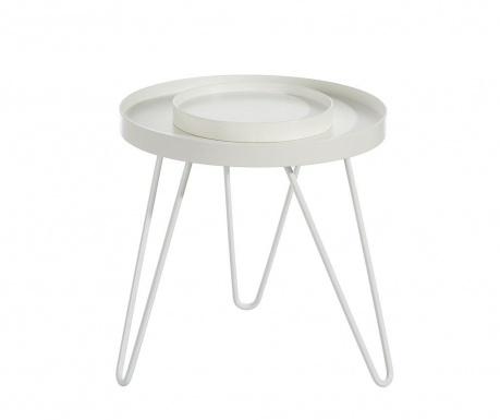 Saloon Asztalka szervírozó tálcával S