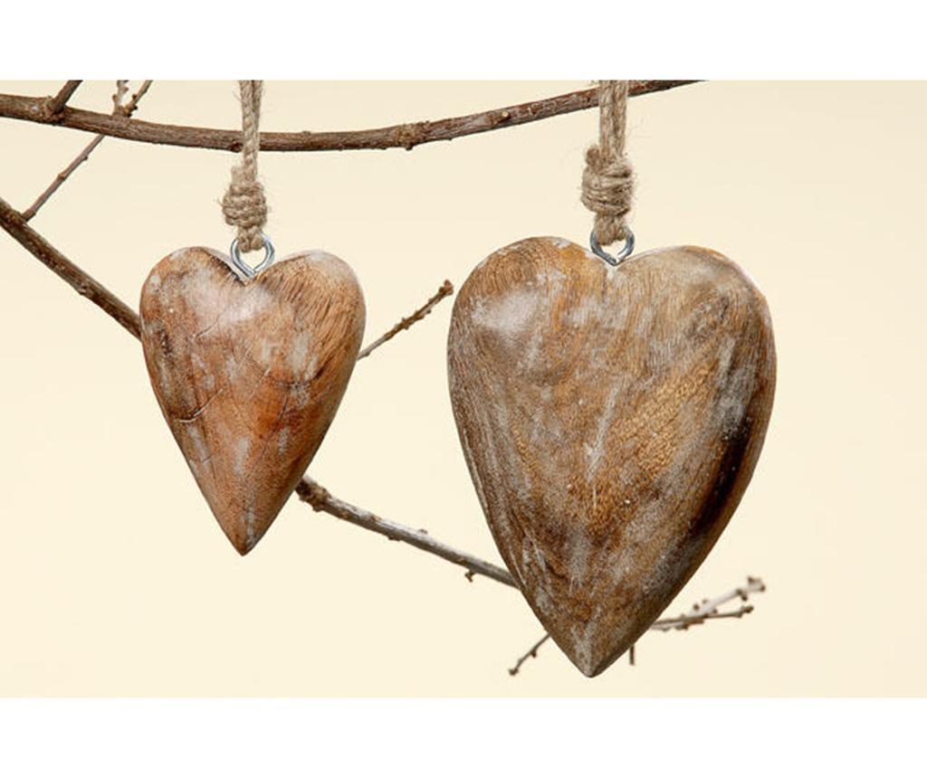Viseča dekoracija Heart S