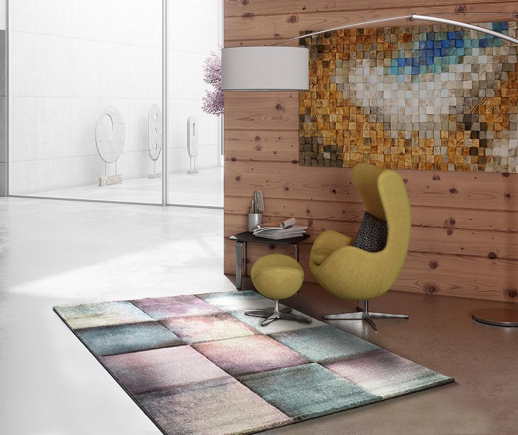 Covor Pinky Squares 140x200 cm