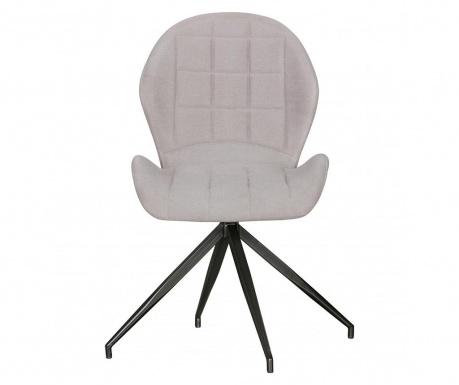 Sada 2 otočných židlí Yuki Vintage Grey