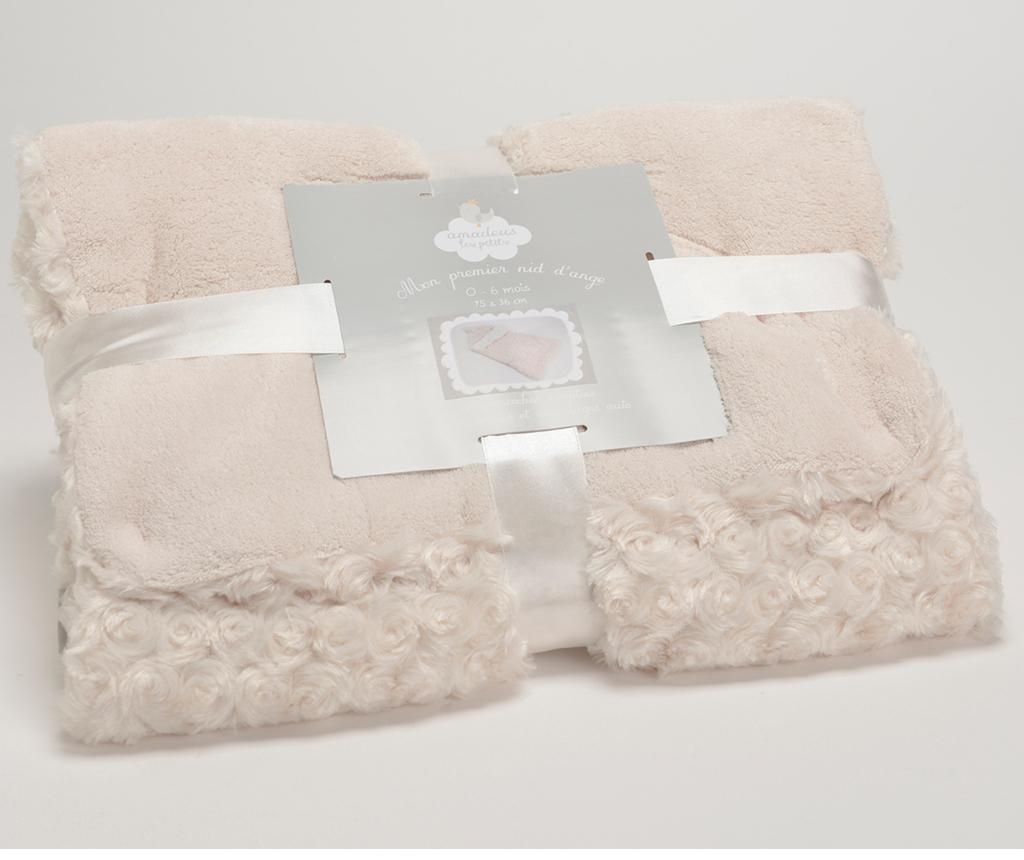 Sac de dormit Little Roses Cream 0-6 luni
