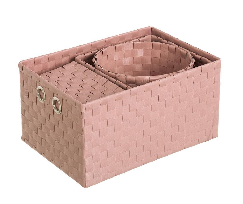 Set 4 cosuri Desire Pink