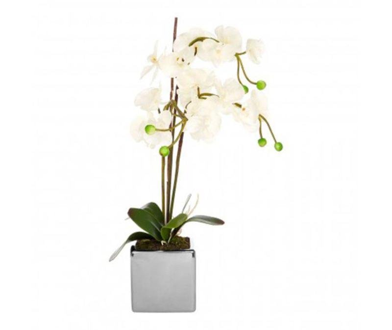 Floare artificiala in ghiveci Fiori Orchid